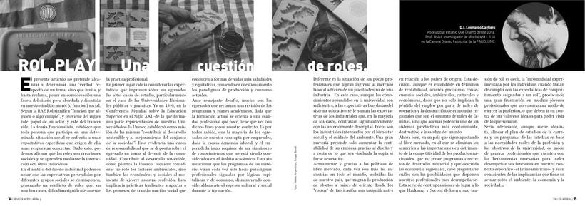 Diseño Editorial y Fotografía para Revista Modular 5