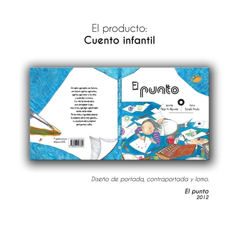 • El Punto • {Proyecto Final de Ilustración: Cuento infantil} 0