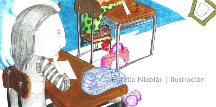 • El Punto • {Proyecto Final de Ilustración: Cuento infantil} 7