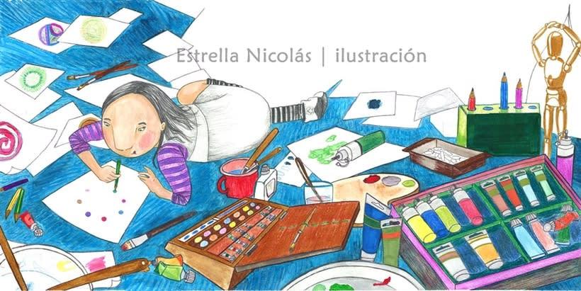 • El Punto • {Proyecto Final de Ilustración: Cuento infantil} 12