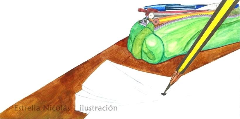 • El Punto • {Proyecto Final de Ilustración: Cuento infantil} 4