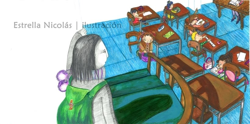 • El Punto • {Proyecto Final de Ilustración: Cuento infantil} 6