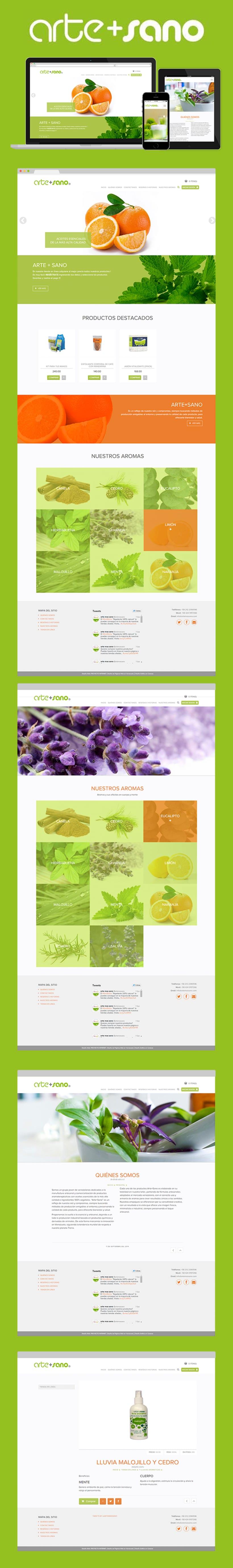 Arte+Sana - Web Design + UX/IU -1