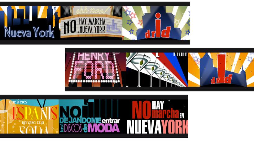 """Tipografía """"NO HAY MARCHA EN NY"""" 0"""