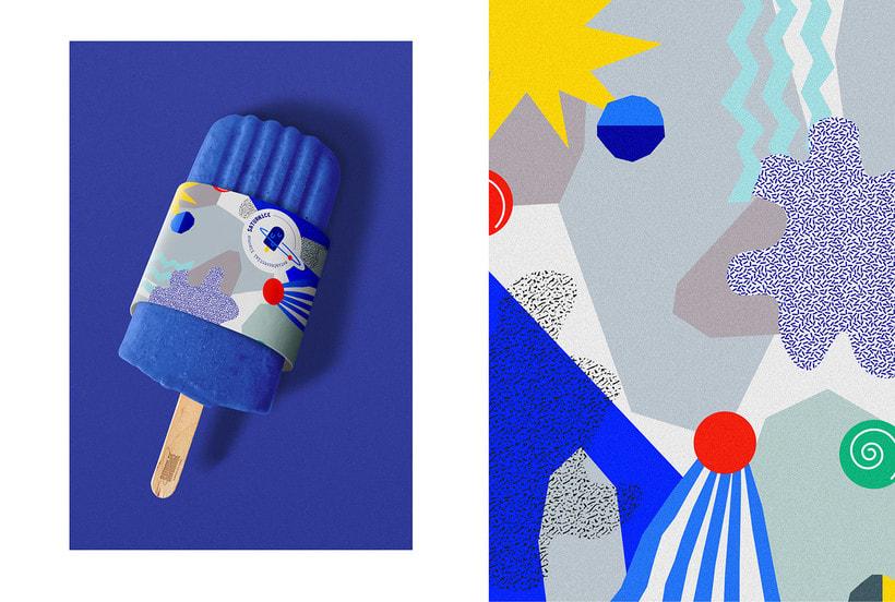 SATURNiCE | Ice Cream Van Branding 5