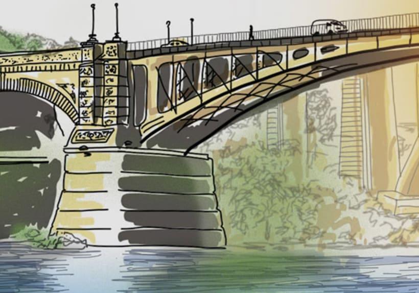Centenario del Puente Nuevo 1918-2018. Ourense. (La Región). 6