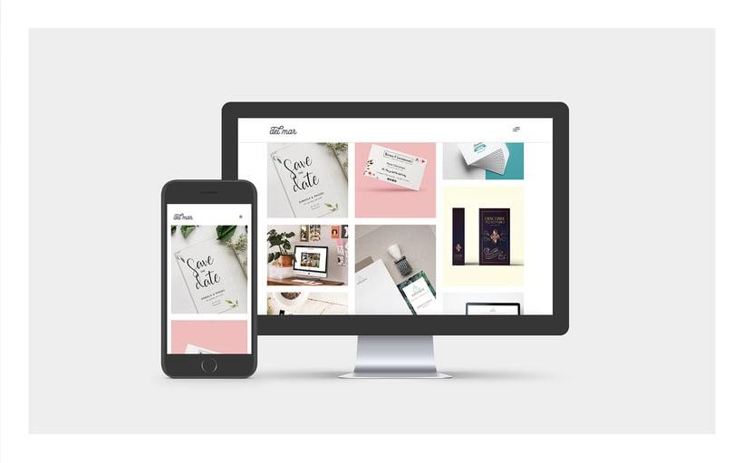 Diseño web portfolio 0