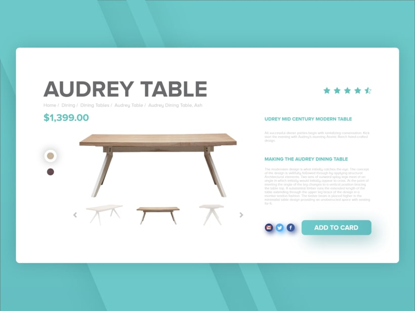 Daily UI 033 - Customize Product 1
