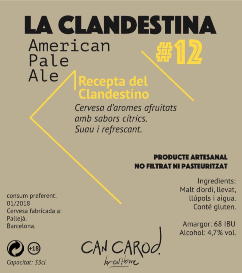 Cervesa Can Carod.  2