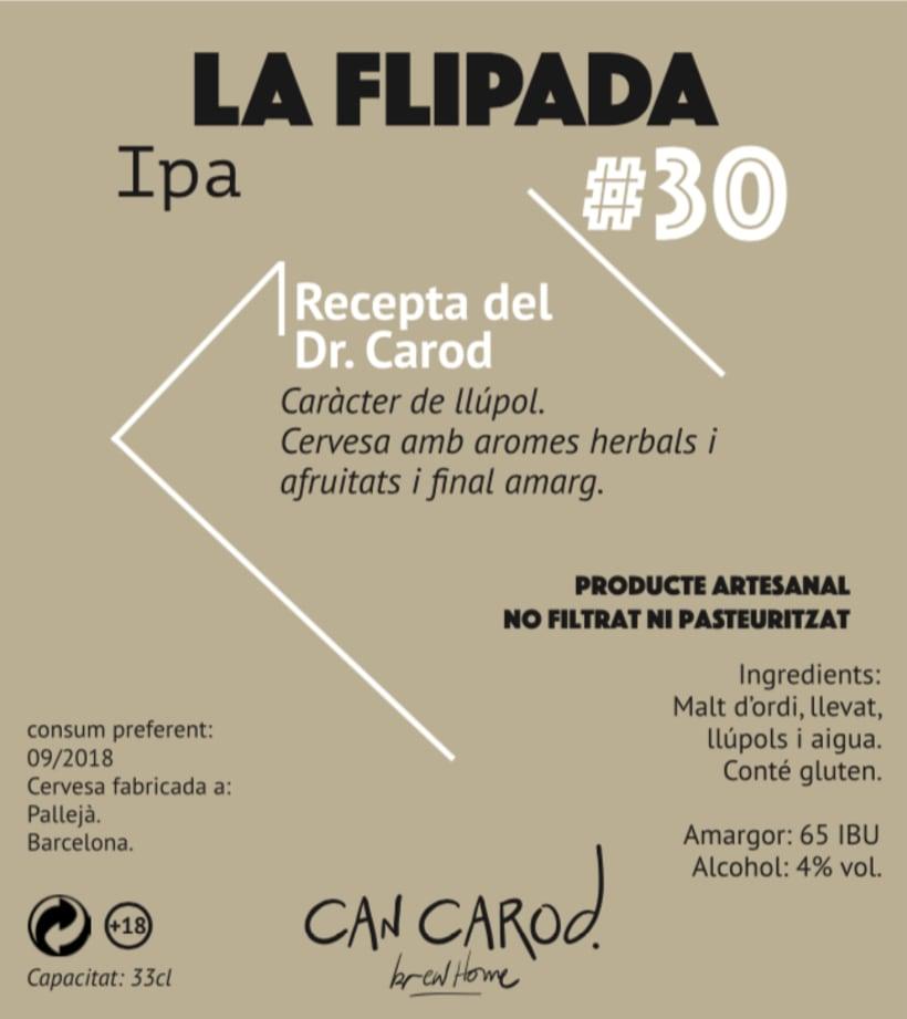 Cervesa Can Carod.  3