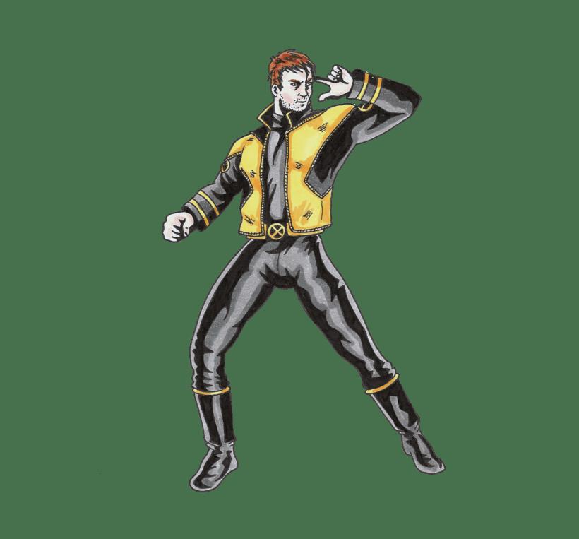 X-men Cyclops 7
