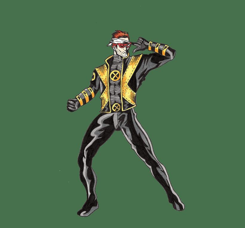 X-men Cyclops 9