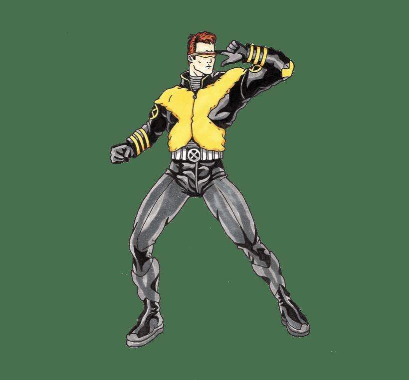X-men Cyclops 10