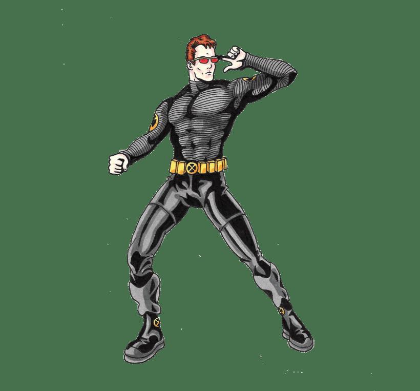 X-men Cyclops 11