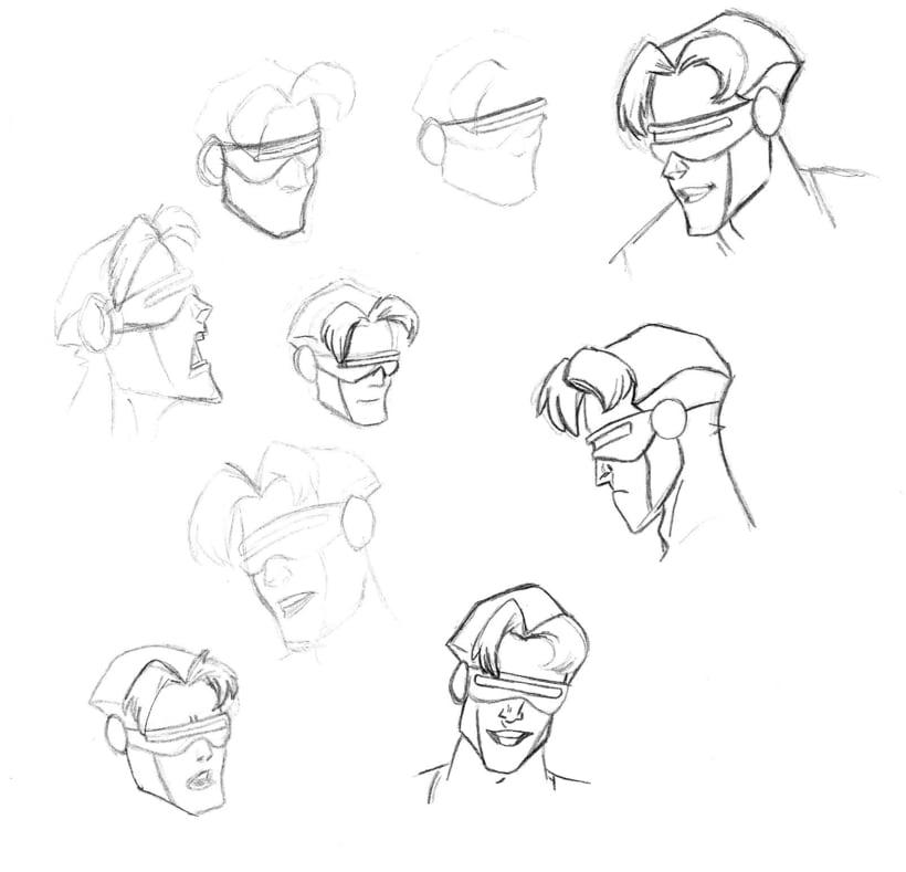Varios bocetos 8