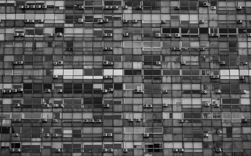 Montevideo histórico en blanco y negro 2