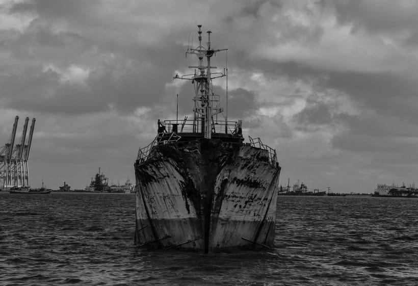 Montevideo histórico en blanco y negro 4