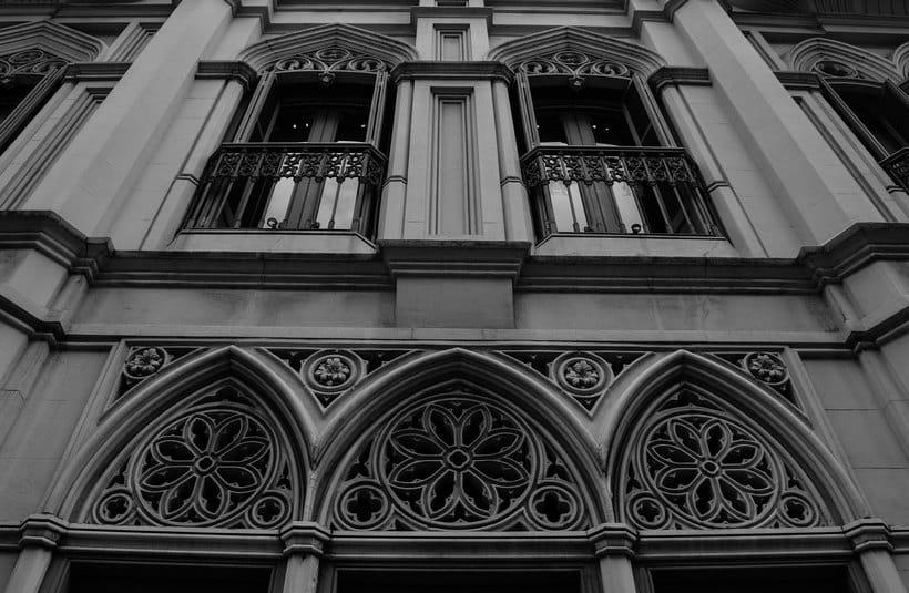 Montevideo histórico en blanco y negro 6