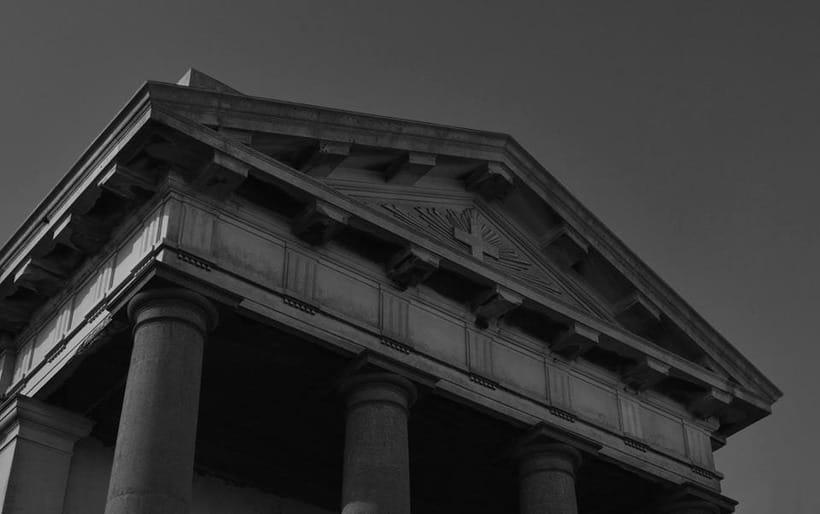 Montevideo histórico en blanco y negro 8