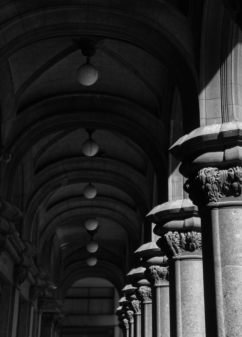 Montevideo histórico en blanco y negro 11