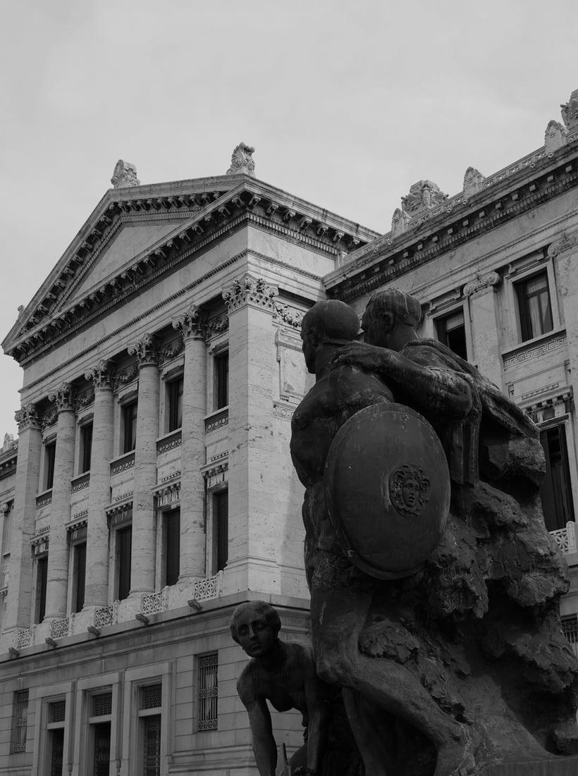 Montevideo histórico en blanco y negro 13