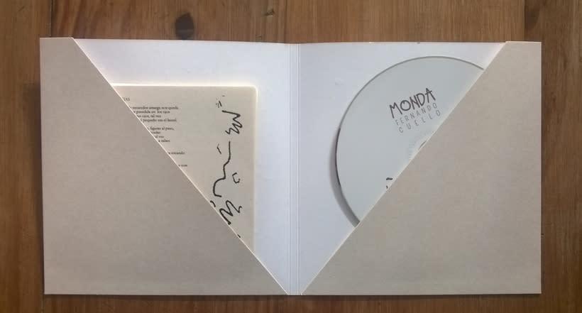 Arte del disco MONDA de Fernando Cuello 2