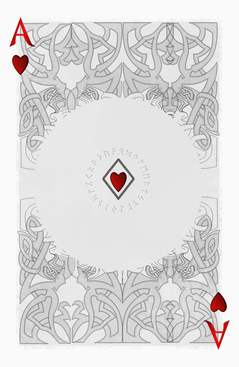 Baraja de póquer nórdica versión lite 14