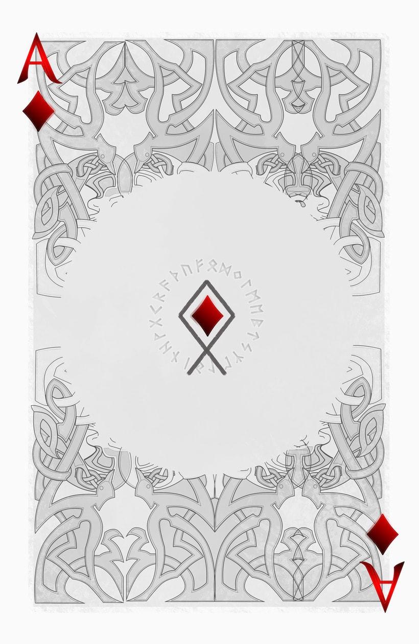 Baraja de póquer nórdica versión lite 15