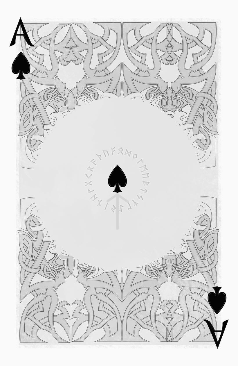 Baraja de póquer nórdica versión lite 16