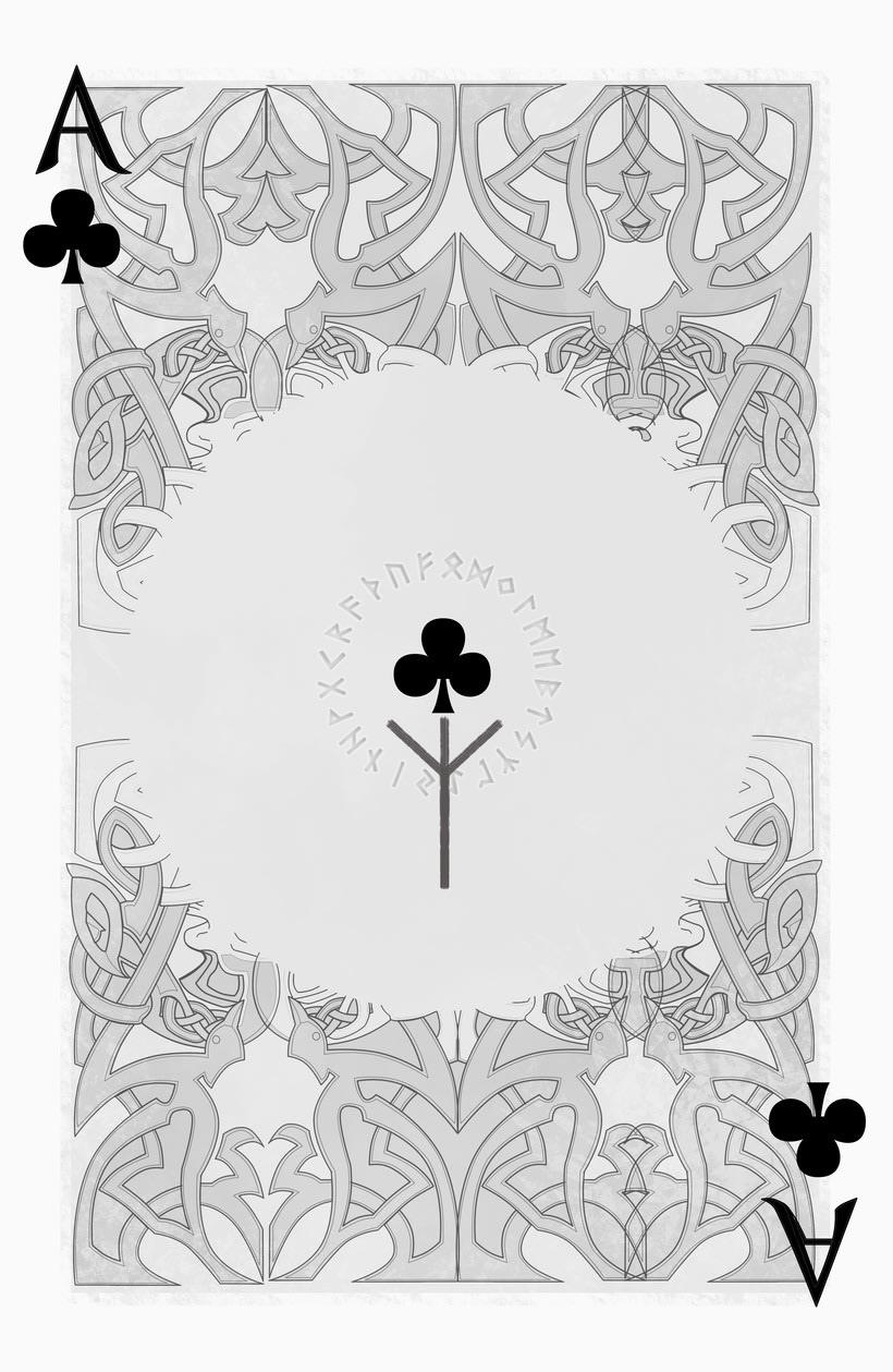 Baraja de póquer nórdica versión lite 17