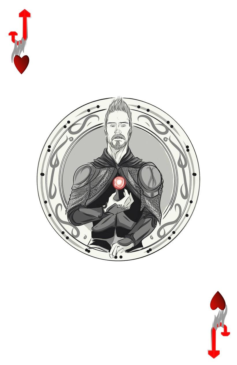 Baraja de póquer nórdica versión lite 4