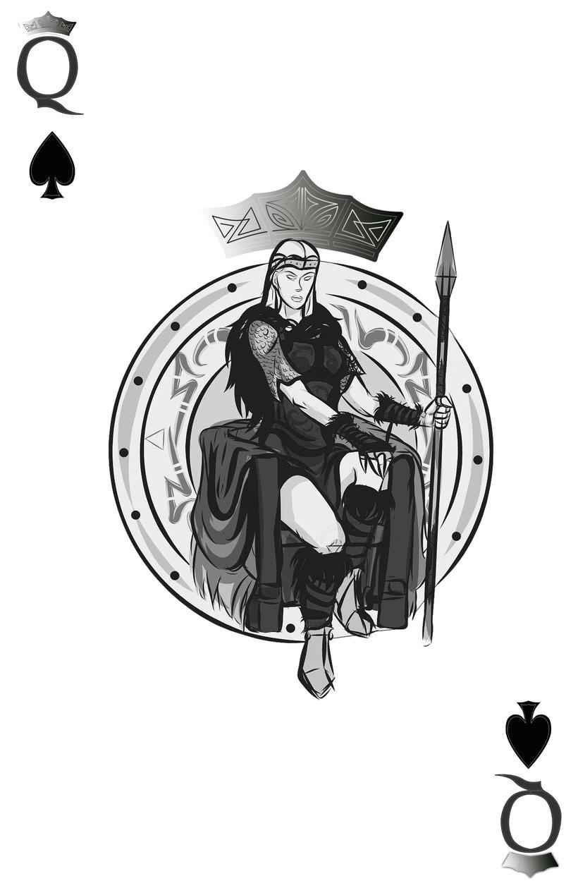 Baraja de póquer nórdica versión lite 6
