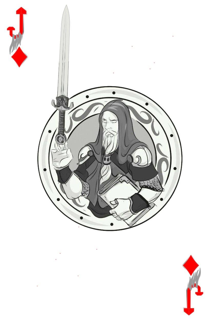 Baraja de póquer nórdica versión lite 8