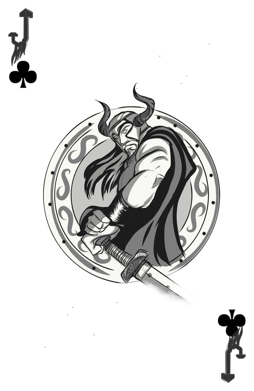 Baraja de póquer nórdica versión lite 10