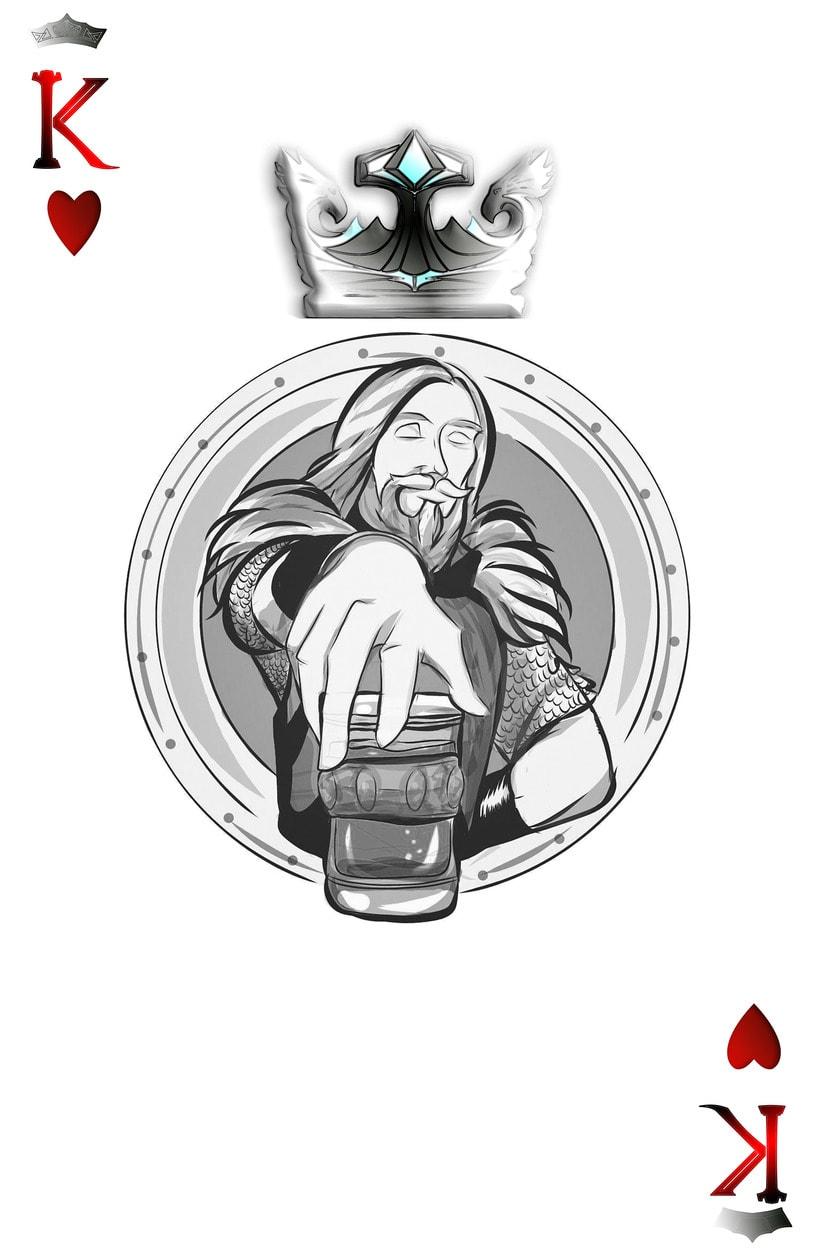 Baraja de póquer nórdica versión lite 2