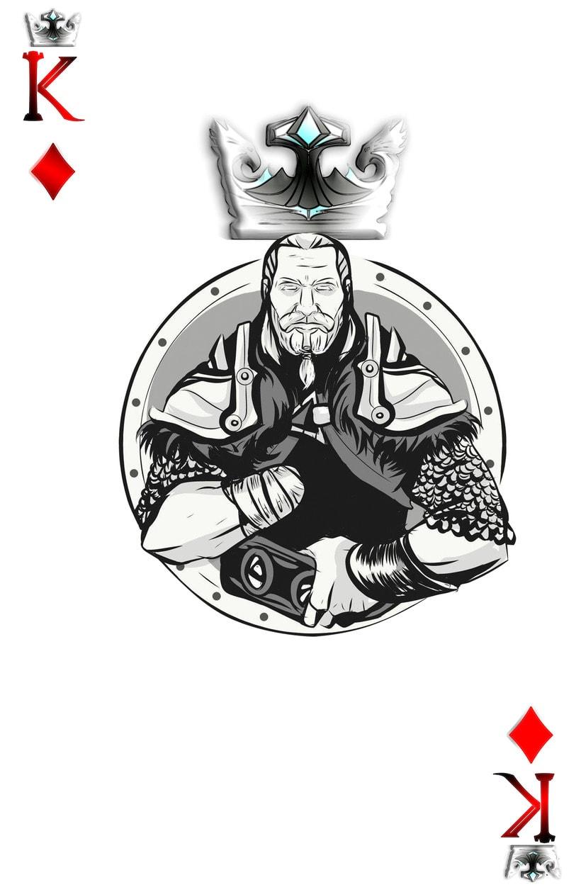Baraja de póquer nórdica versión lite 12