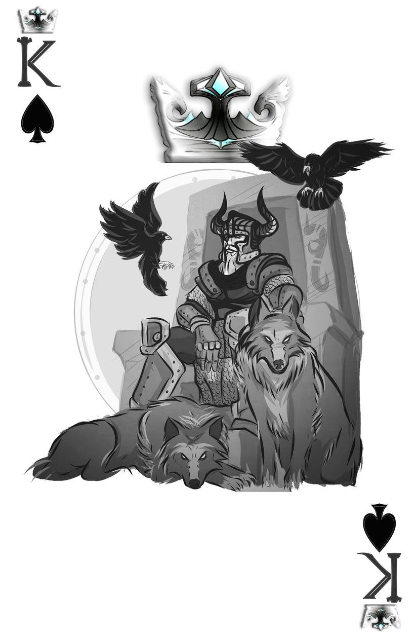Baraja de póquer nórdica versión lite 7
