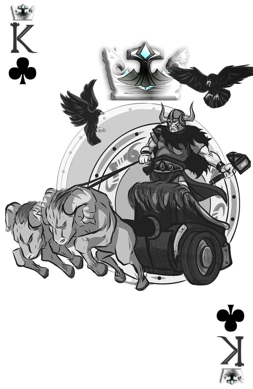 Baraja de póquer nórdica versión lite 13