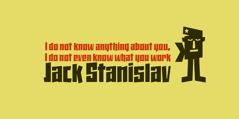 Jack Stanislav -Display Font- 7