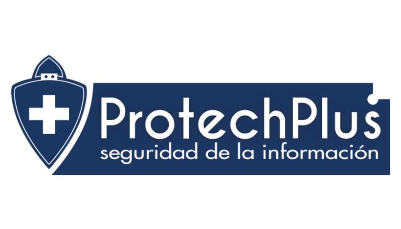 Renovación Imagen Corporativa Protechplus - Post a diseño de Folleto Publicidad 0