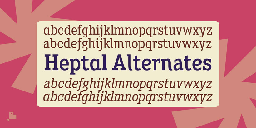 Heptal Serif -Tuscan Inverted- 7