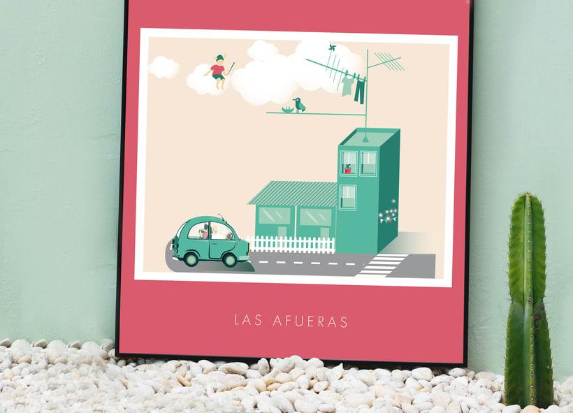 Cartel para el documetal La Ola Verde 3