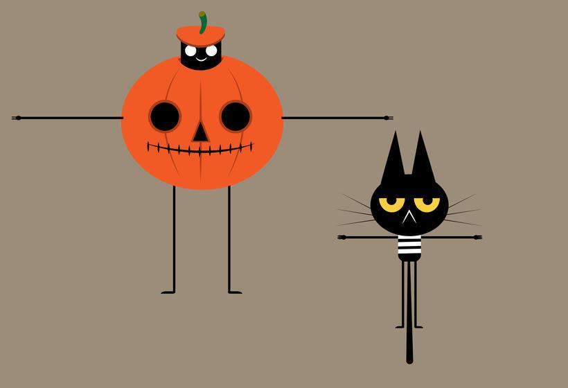 Animación aftereffects pumpkin 0