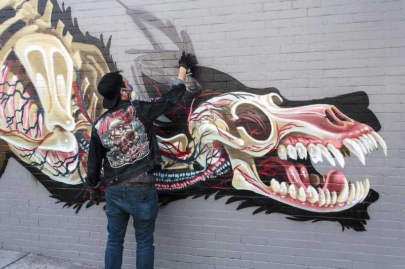 Resultado de imagen de nychos arte urbano