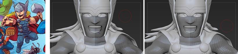 Proyecto:  Thor /Modelado profesional de personajes cartoon 3D 3