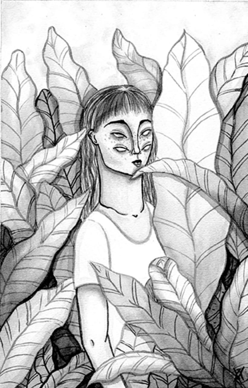 """Mi Proyecto del curso: Introducción a la ilustración con tinta china """"Wichis Montiel"""" 1"""