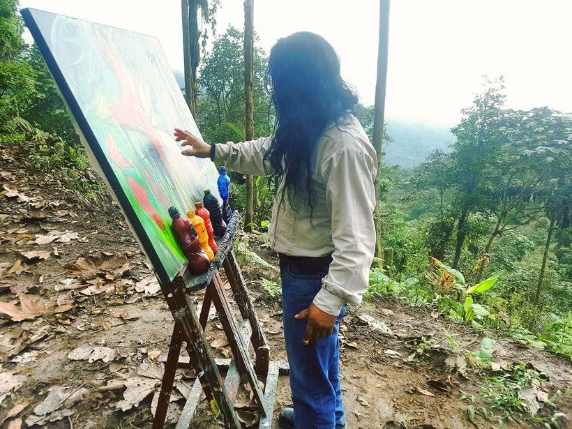 Pintor Ortega Maila-Taller Mashpi 1