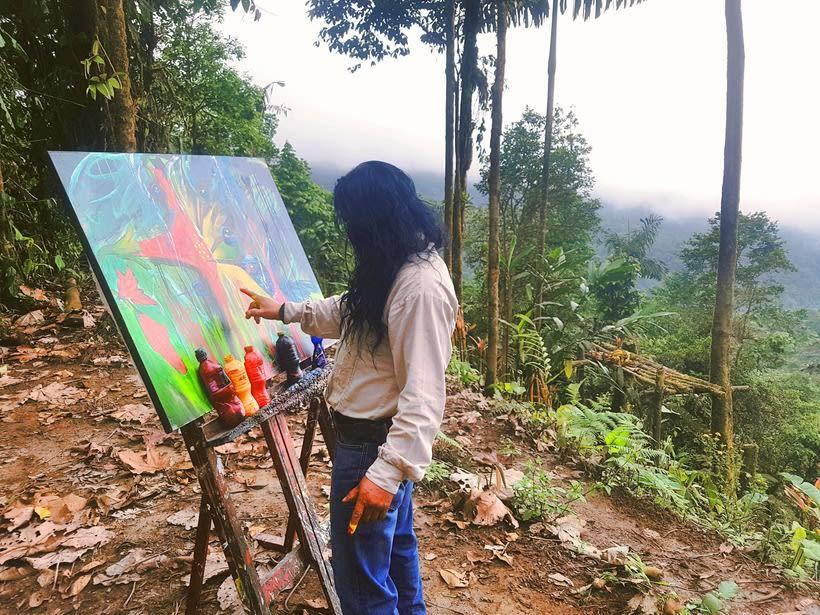 Pintor Ortega Maila-Taller Mashpi 2