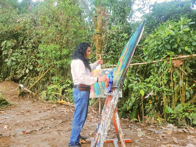 Pintor Ortega Maila-Taller Mashpi 4