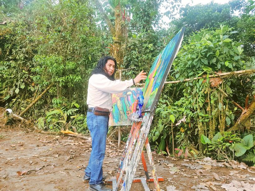 Pintor Ortega Maila-Taller Mashpi 5